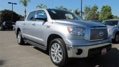 2012 Toyota Tundra 4WD Truck CrewMax 5.7L FFV V8 6-Spd AT LTD