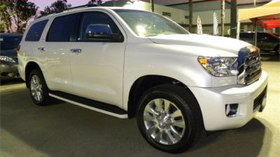 2012 Toyota Sequoia 4WD LV8 FFV 6-Spd AT Platinum (Fully Loaded)