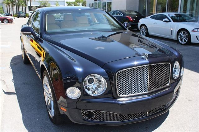 2013 Bentley Mulsanne 4dr Sdn